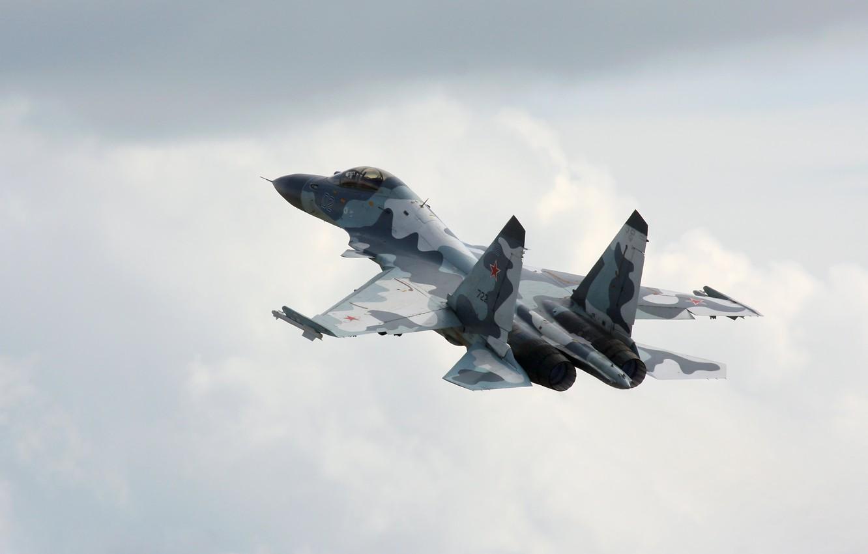 Обои Облака, полет, истребители. Авиация foto 6