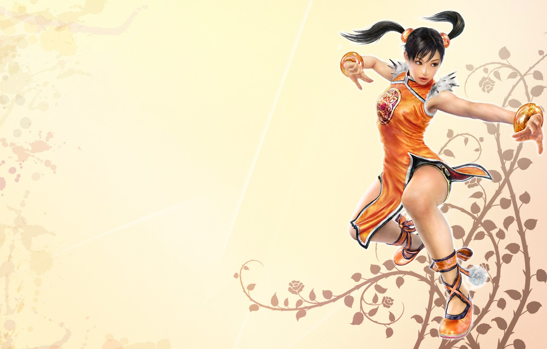 Фото обои фон, светлый, Tekken, Теккен, Xiaoyu, Tekken 6