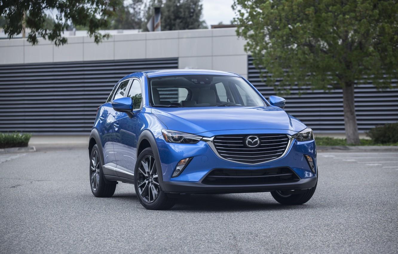 Фото обои Mazda, мазда, кроссовер, CX-3