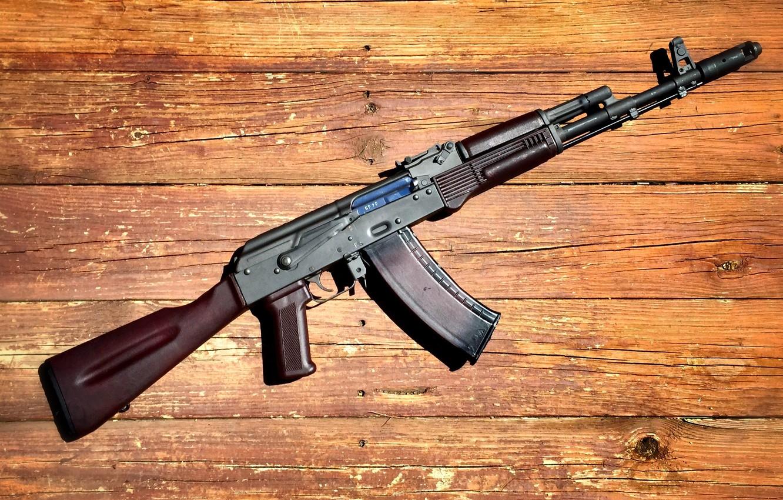 Фото обои оружие, автомат, Калашникова, Ак-74