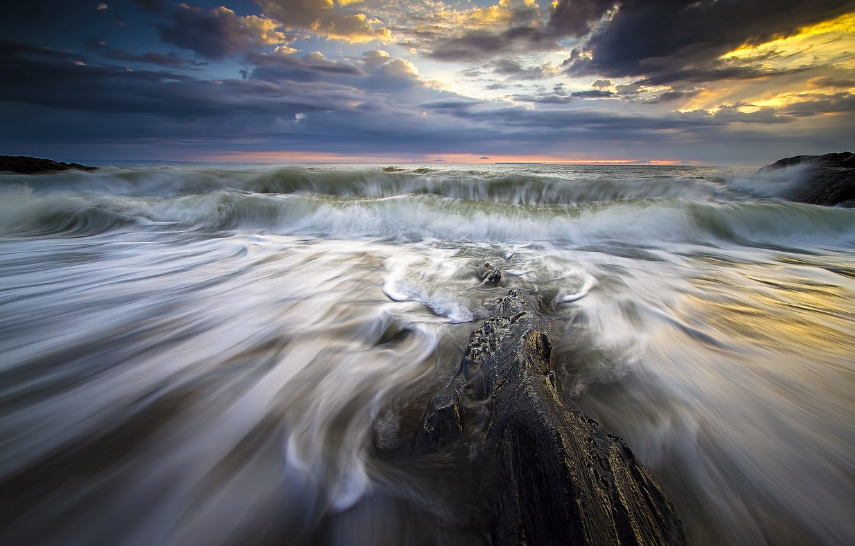 Обои волны. Пейзажи foto 10