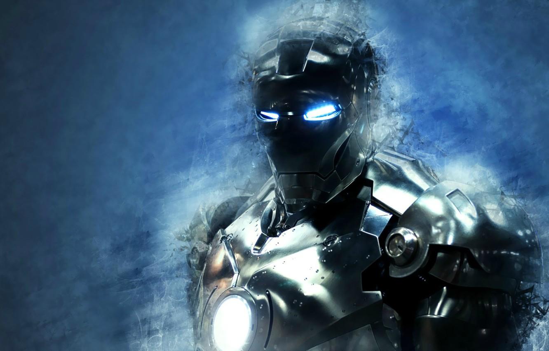 Фото обои костюм, броня, Железный человек, Iron Man