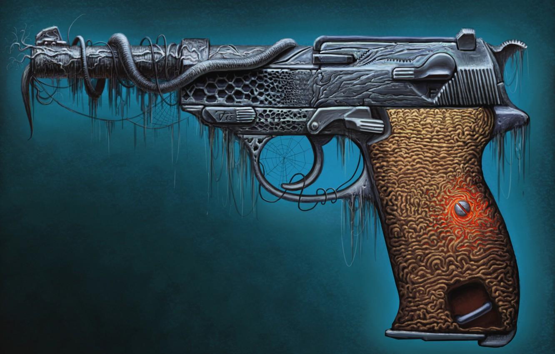 Обои пистолет. Разное foto 10