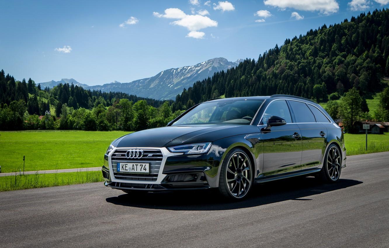 Фото обои Audi, ауди, ABT, универсал, Avant