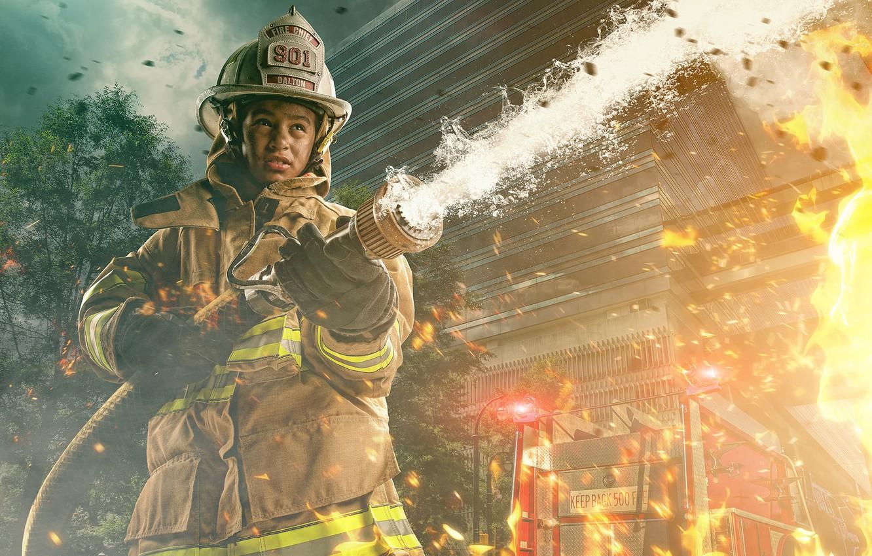 пожарная тематика картинки и обои днем пограничника