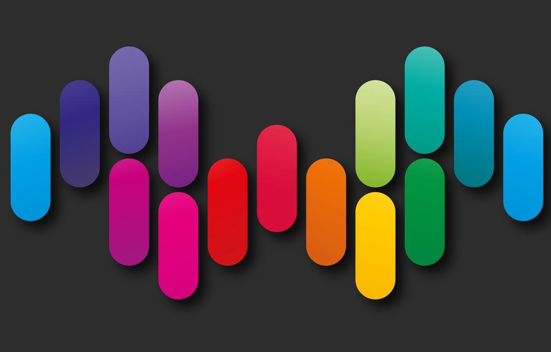 Обои colorful, background, geometry, colors, Abstract, shapes, rainbow. Абстракции foto 17