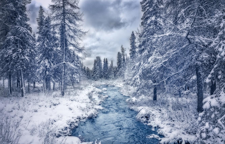 картинки река заснеженная меня