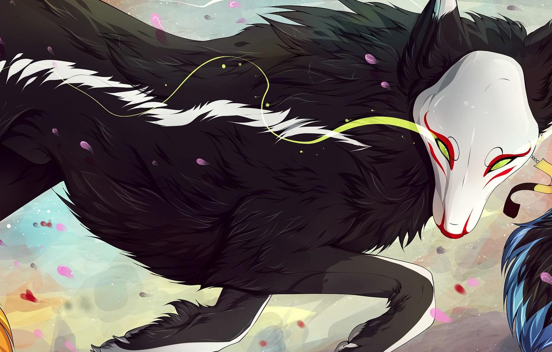 каких картинки темного зверя приветствуем всех