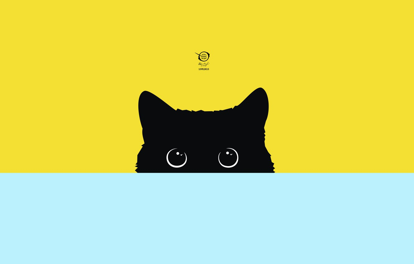 Фото обои vector, digital, art, kitty, cats, pictures, drawings, images, radic, zelko, bfvrp, artworks