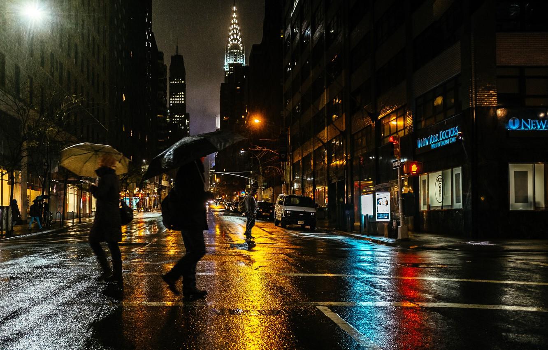 Дождь в городе обои и картинки нашем очередном