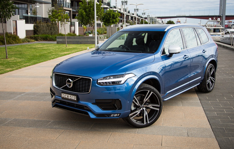 Фото обои Volvo, XC90, вольво, кроссовер