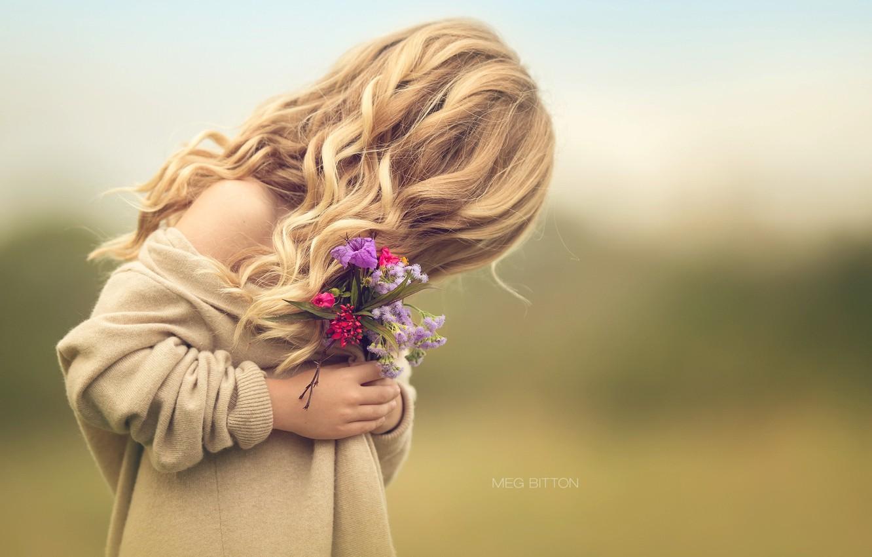 Обои настроение, Девочка, цветок. Настроения foto 6