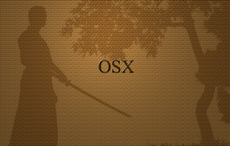 Фото обои самурай, OSX, Mac OS