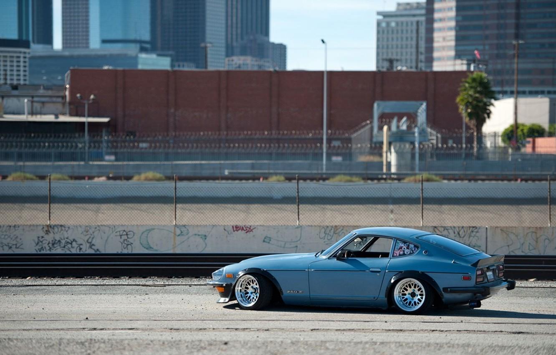 Фото обои город, Datsun, Vehicles