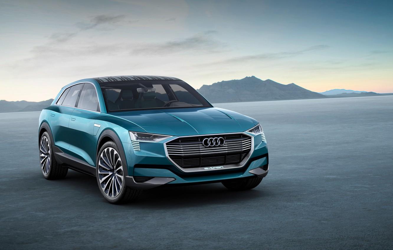 Фото обои Audi, ауди, concept, концепт, quattro, 2015, e-trn