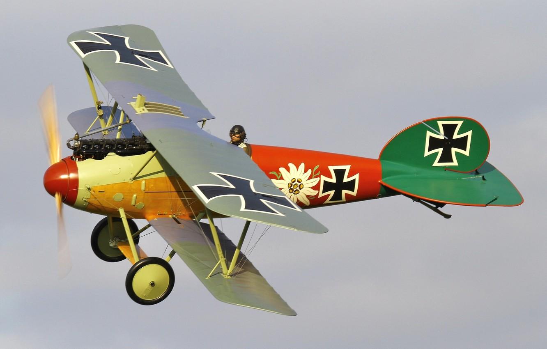 Обои сил, триплан, Fokker dr.1, военно-воздушных, истребитель. Авиация foto 17