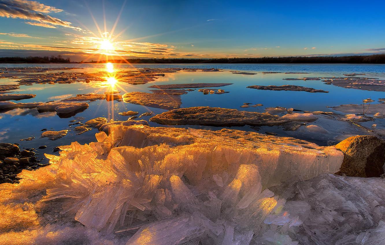 это фото море зимой рассвет литературным