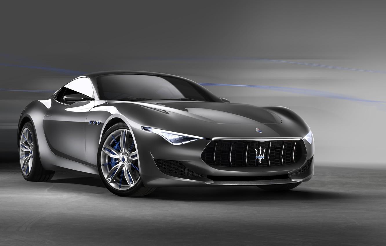 Фото обои Concept, Maserati, 2014, Alfieri