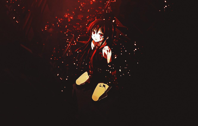 Фото обои девушка, Akame, Akame ga kill, убийца Акаме, night raid