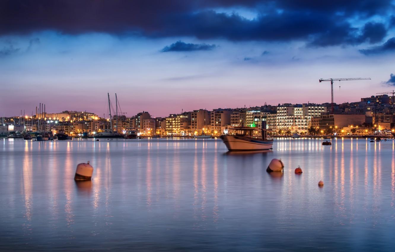 Обои Мальта, malta xlokk, malta, Залив, Marsaxlok, marsaxlokk bay, марсашлокк. Города foto 8