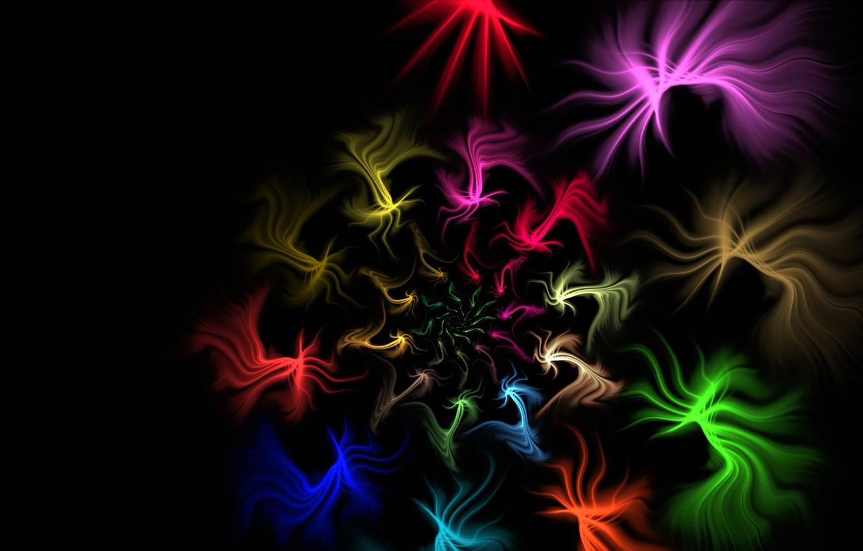 Обои узор, спираль, Цвет, свет. Абстракции foto 14