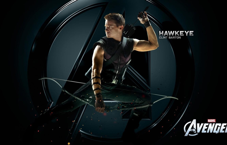 Фото обои лук, стрелы, мстители, CLINT BARTON, HAWKEYE