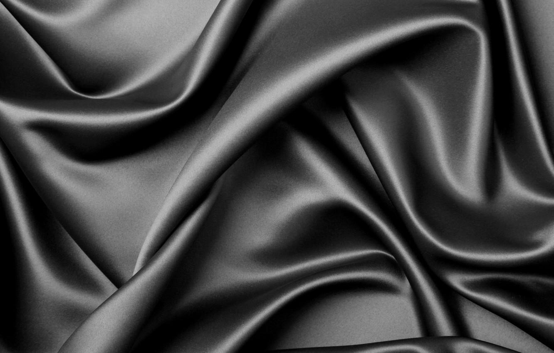Фото обои обои, black, elegant background, silk