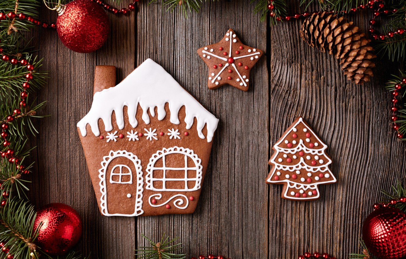 Обои christmas, cookies, decoration, рождество, xmas, Merry. Новый год foto 9