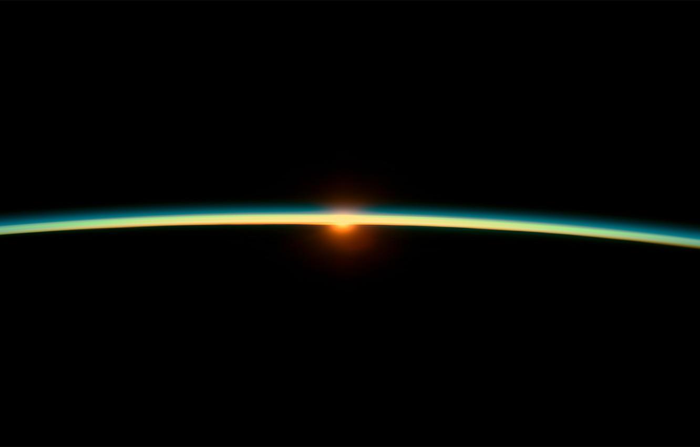 Фото обои солнце, терминатор, черная