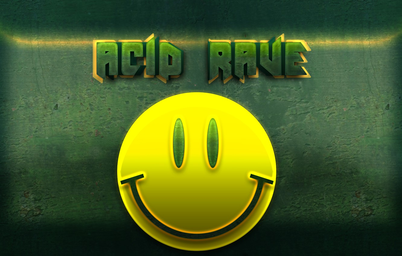 Фото обои music, acid, rave