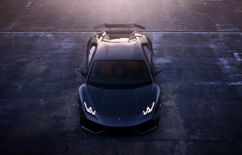 Фото обои LP 610-4, William Stern, Lamborghini Huracan, LB724