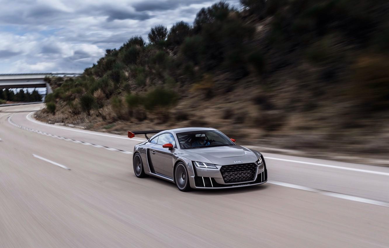 Фото обои car, авто, Concept, Audi, ауди, road, speed, TT, Clubsport Turbo