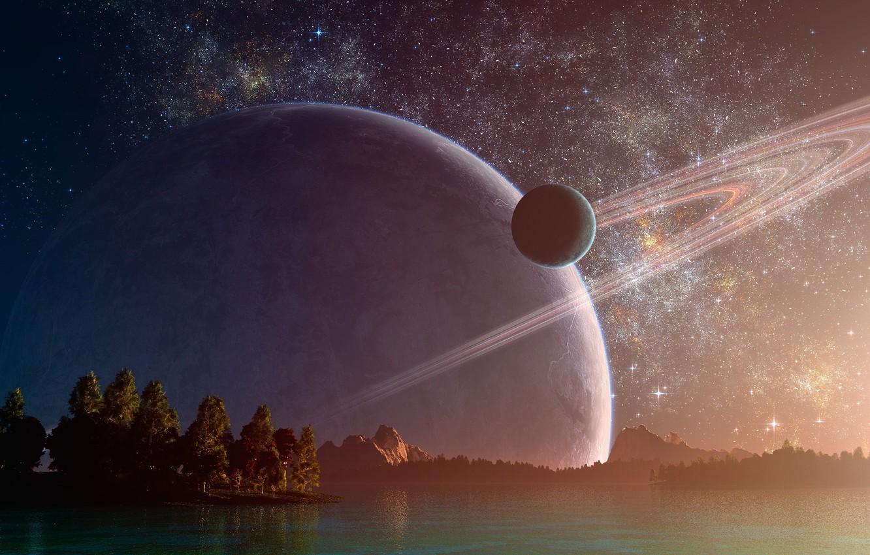 Картинки звездного неба планет