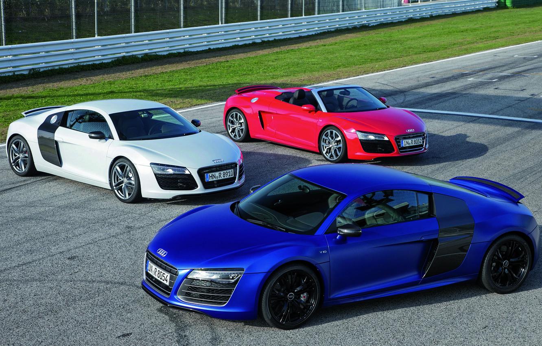 Фото обои Audi R8, Spyder, Суперкар, Автомобили, V10, Audi R8 V10, V10 Coupé