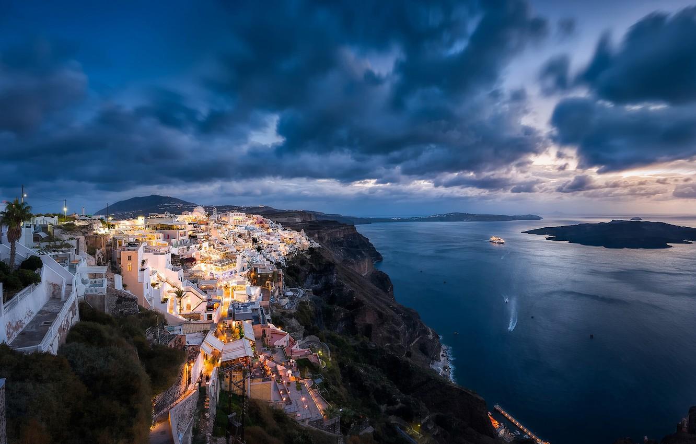 Обои побережье, greece, coast, греция. Города foto 18
