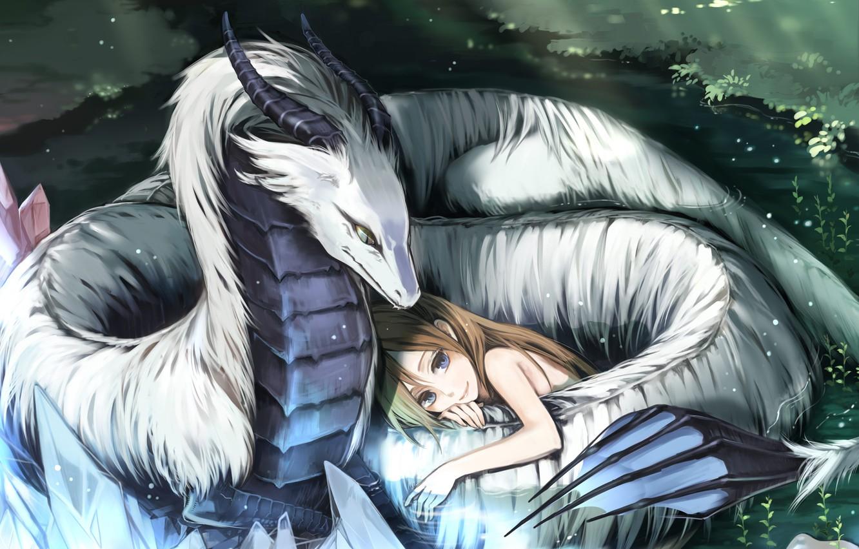 Девочка и Дракон.   Баронесса Лис   Фанбук fan-book.ru   850x1332