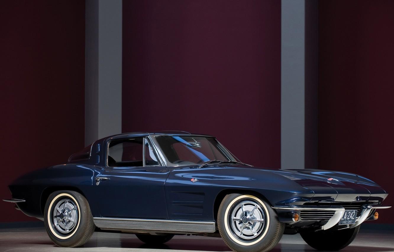 Фото обои Chevrolet, corvette, sting ray