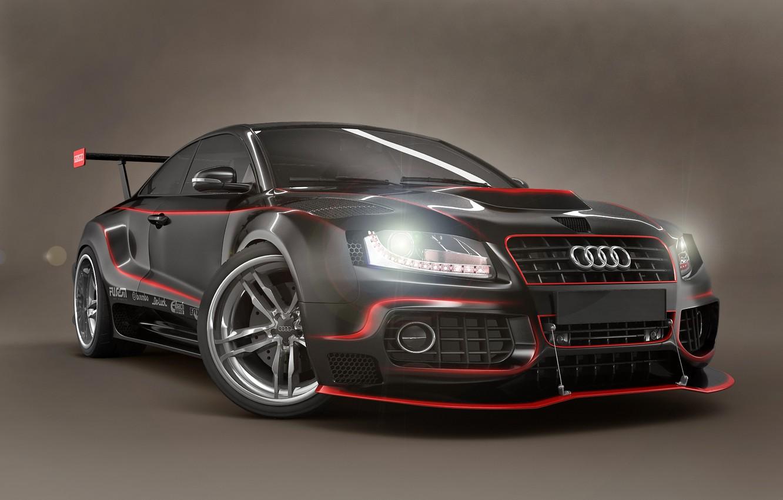 Фото обои Audi, GTR
