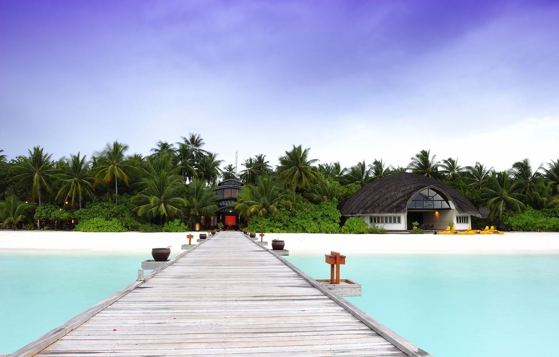 фото море домики песок стены