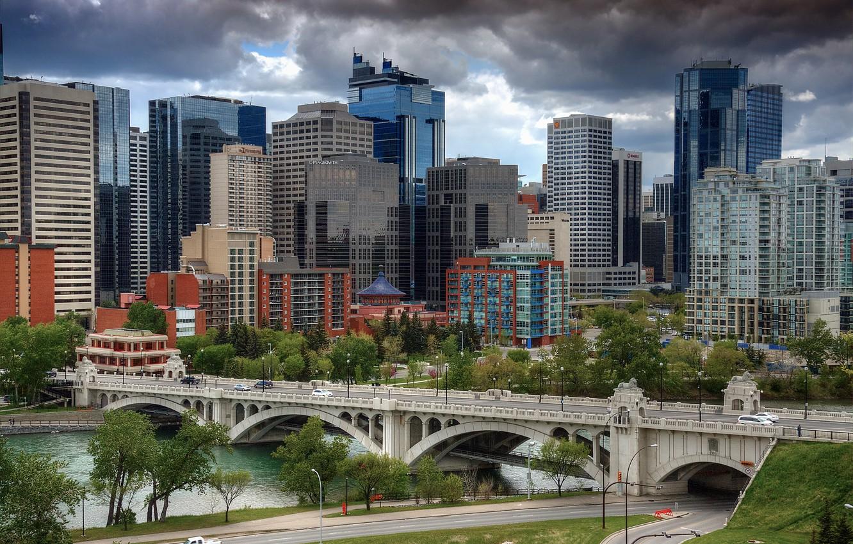 Фото обои Канада, Альберта, Калгари, Calgary