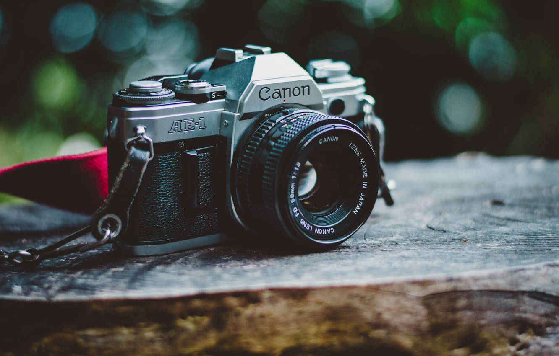 Обои камера, фон, makro. HI-Tech foto 19