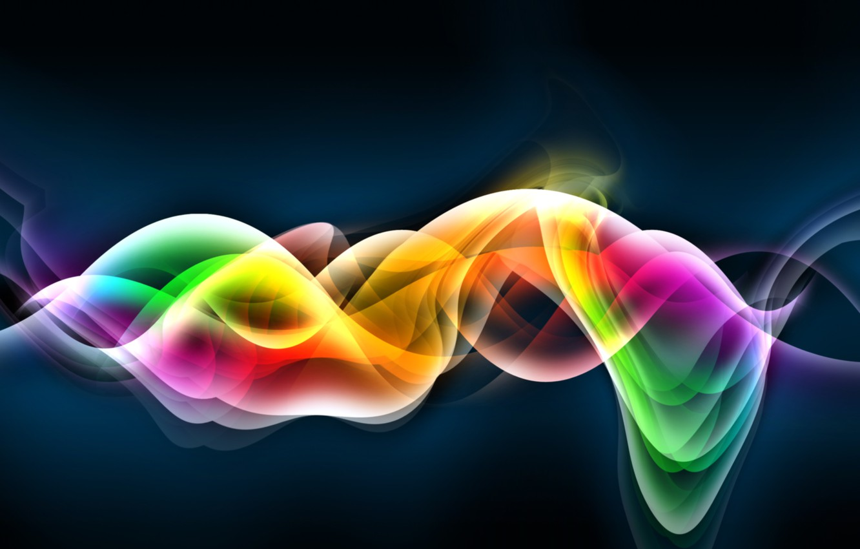 Фото обои wave, Colours, form, flow