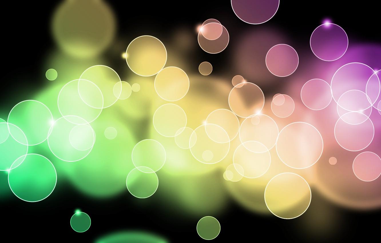 Фото обои свет, круги, абстракция, узоры, краски, colors, light, circles, patterns, 1920x1200, боке, bokeh, abstraction