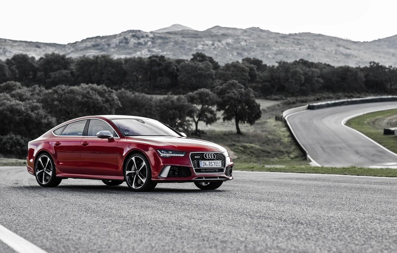 Фото обои Audi, ауди, Sportback, RS 7