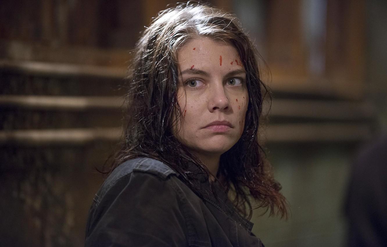 Фото обои лицо, Maggie, The Walking Dead, Ходячие мертвецы, Lauren Cohan