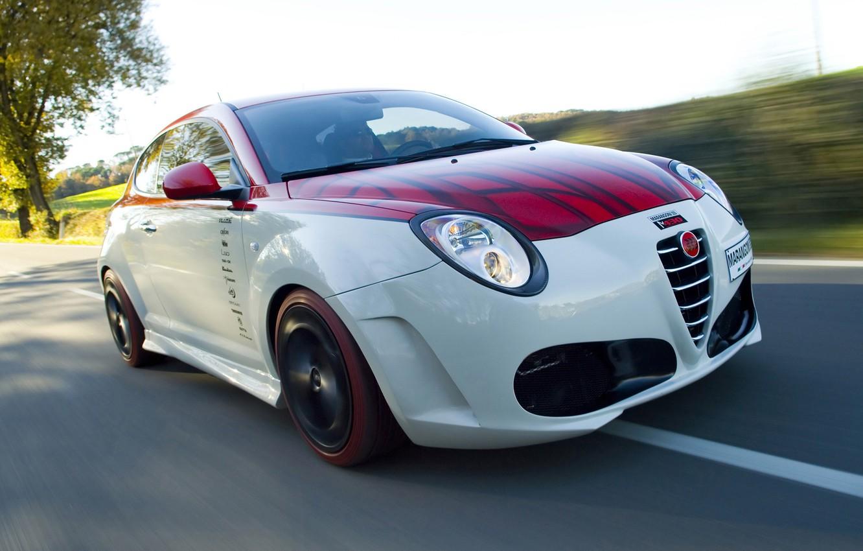 Фото обои авто, скорость, Alfa Romeo, альфа рамео