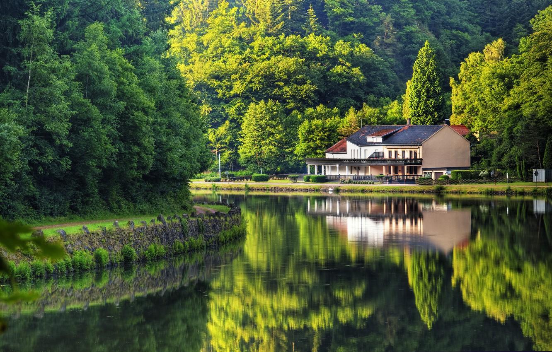 Обои красиво, лето, германия. Города foto 7