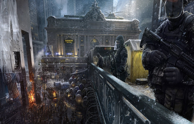 Фото обои winter, people, The Devision