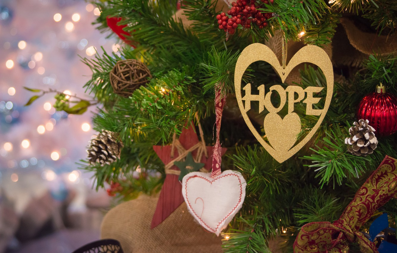 новый год фото на рабочий стол сердечками украсить рукав епископа