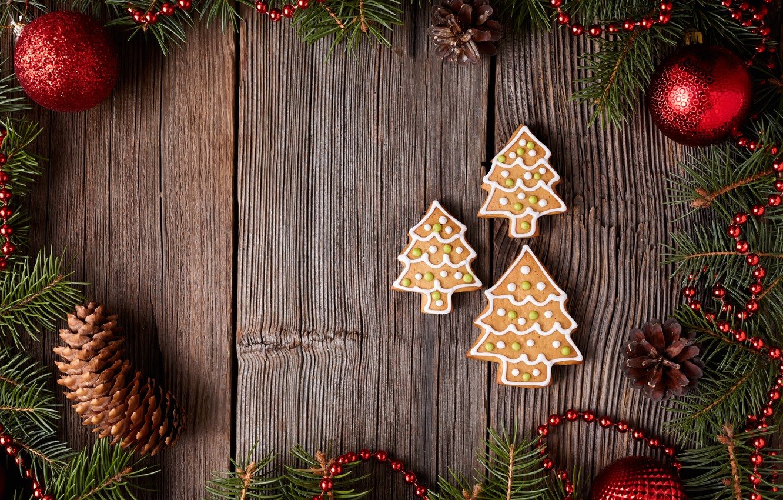 Обои decoration, рождество, xmas, cookies, Merry, christmas. Новый год foto 18